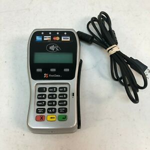 First Data Fd 35 Credit Card Terminal Reader Tested And Working