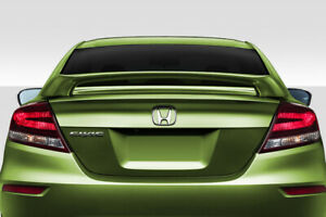 Duraflex Si Look Rear Wing 1 Piece For 2012 2015 Civic 2dr