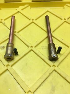 Lot Of 2 Johnson Controls Wel14a 602r Bulb Well Assembly