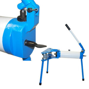 Portable Hydraulic Pipe Tube Bender 1 2 2 Inch Die 10 Ton Capacity