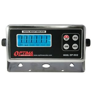 Op 902 Replacement Digital Scale Indicator New W cable batteries a c Adapter