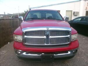 Truck Cab Dodge Pickup 1500 02 03 04 05 06 07 08 09 Red