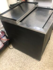 1 Door Back Bar Cooler Beer Bottle Refrigerator True Tbb 1 Commercial Nsf