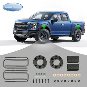 3 Front And 2 Rear Leveling Lift Kit For 2007 2019 Chevy Silverado Sierra Gmc