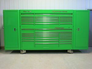 Mac Tools 141 Long Extreme Green Macsimizer Tool Box Top Chest