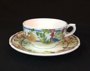 Gien Villa Medicis China Teacup And Saucer Tea Cup More Available