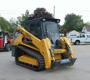 2016 Gehl Rt250 Track Skid Steer Loader 2 Speed Gen 3 Low Hours 92