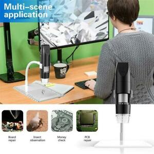 Digital Microscope Magnifier Wireless Wifi 1000x 200w Usb For Ios Iphone android