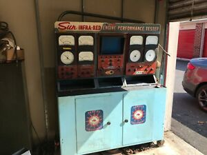 Sun Infra Red Engine Performance Tester Model Ss 110