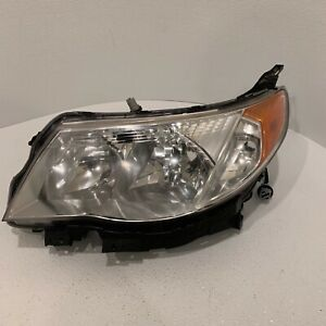 2009 2010 2011 2012 2013 Subaru Forester Left Driver Side Halogen Headlight Lamp
