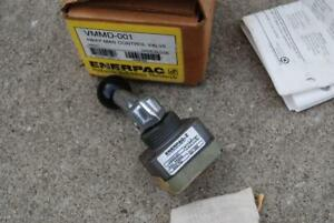 Enerpac Vmmd 001 Hydraulic Directional Control 4 Way Valve Do3 Mount Usa Made