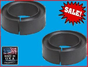 Pair Universal Coil Spring Lift Kit Spacers For Toyota Nissan Lincoln Mitsubishi