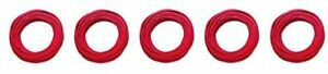 Pomona 6733 2 Silicone Test Lead Wire 50 Feet 15 2 Meters Red 5 pack
