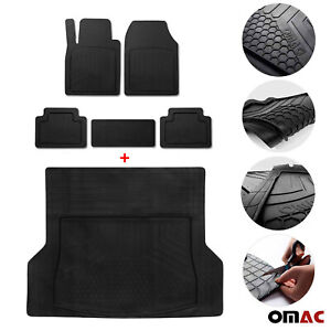 For Jeep Waterproof Rubber 3d Molded Floor Mats Cargo Liner Protection Set