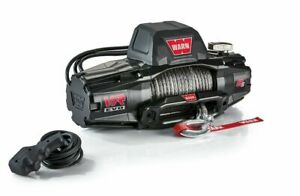 Warn Vr Evo 8 S Electric Winch With 90 Synthetic Rope Universal Fitment 103251