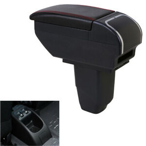 Armrest Box For Peugeot 206 207 Central Content Storage Box With Cup Holder