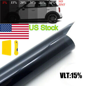 Universal Uncut Window Tint Roll 15 Vlt 20 20 Feet Home Commercial Car Film