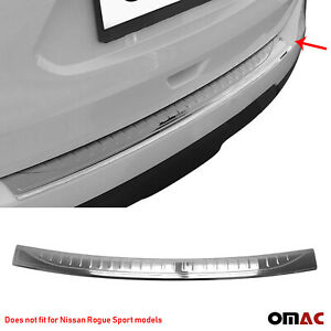 Fits Nissan Rogue 2014 2016 Chrome Rear Bumper Guard Trunk Sill Cover S Steel