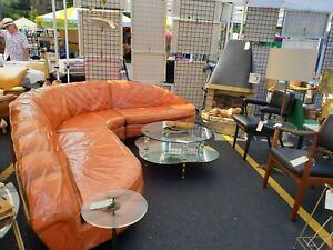 Mid Century 3 Piece Sectional Sofa By Heywood Wakefield