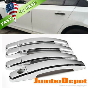 Us Chrome Side Door Handle Cover Trims Fit 2013 2015 Chevrolet Cruze Malibu