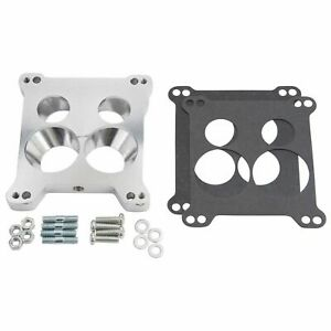 Carburetor Adapter Kit Edelbrock Afb 4 Bbl To Quadrajet Base Manifolds 2696