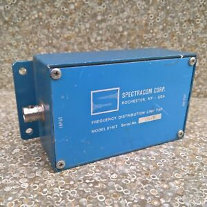 Spectracom Corp 8140t Frequency Distribution Line Tap Bnc Connector