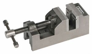 Palmgren Drill Press Vise 4 Jaw Opening in 4 Jaw Width in 1 3 4