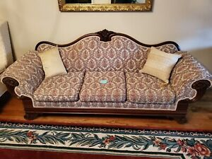 Vintage Antique Couch Sofa Duncan Phyfe