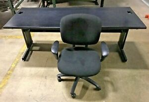 Office Desk 6ft With Haworth Fully Loaded Chair