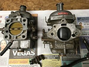 Lotus Twin Cam Carburetors