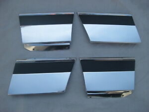 Nos Chevy Caprice 1977 1978 1979 Lower Fender Trim Molding Set 4 Genuine Gm