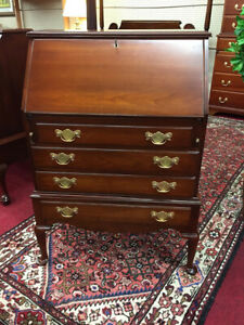Pennsylvania House Queen Anne Secretary Desk Solid Cherry Delivery Available