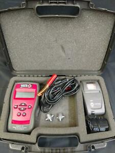 Matco Tools Battery Tester System Analyzer In Case