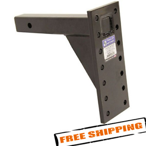 B w Pmhd14004 Pintle Hook Mounting Plate For 2 Hitches 13 Shank 14 Hole
