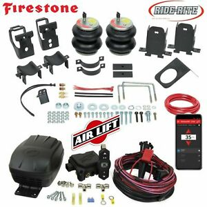 Firestone 2550 Air Bags Wireless Airlift 99 16 Ford F250 F350 Rear No Drill