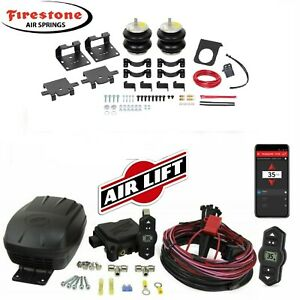 Firestone Air Bags 2613 Wireless Airlift 2011 2020 Chevy Gmc 2500hd 3500hd