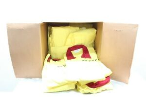 Box Of 12 Sager 3xl Yellow Safety Coveralls