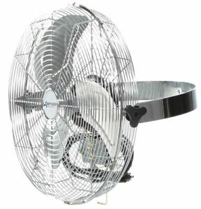 Air Circulator Commercial Ceiling Wall 18 Blade Dia 2966 Cfm High 3