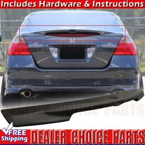 2006 2007 Honda Accord 4dr Lip Factory Style Spoiler Wing Unpainted