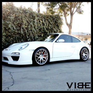 19 Ruger Mesh Concave Forged Wheels Rims Fits Porsche 996 997 911 Carrera S