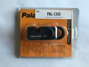 Paladin Pal 1243 3 level Coaxial Cable Stripper Brown Cassette Brand New