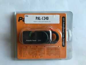 Paladin Pal 1240 3 level Coaxial Cable Stripper Green Cassette Brand New