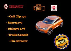 Renault Can Clip 190 Reprog 179 Dialogys 4 78 Truck Consult Pinextractor