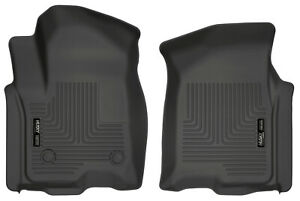 Husky Liners All Weather Custom Fit Auto Floor Mats For Silverado Sierra Black