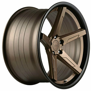 20 Vertini Rfs1 7 20x9 20x10 5 Concave Forged Wheels Rims Fits Dodge Challenger