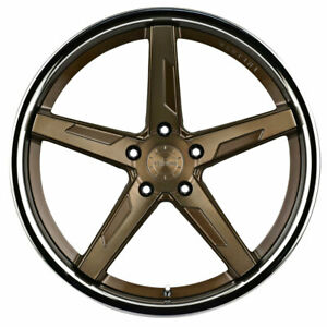 20 Vertini Rfs1 7 Bronze 20x9 Concave Forged Wheels Rims Fits Acura Tsx