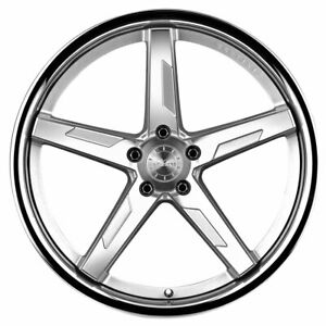 20 Vertini Rfs1 7 Silver 20x9 20x10 Concave Forged Wheels Rims Fits Lexus Gs F