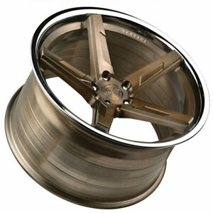 20 Vertini Rfs1 7 Bronze 20x9 20x10 Rims Wheels Fits Jaguar Xkr