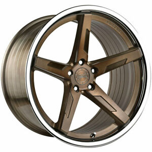 20 Vertini Rfs1 7 Bronze 20x9 20x10 5 Rims Wheels Fits Jaguar Xkr