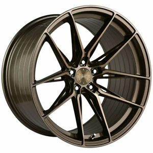 20 Vertini Rfs1 8 Bronze 20x9 20x10 Concave Wheels Rims Fits Ford Mustang